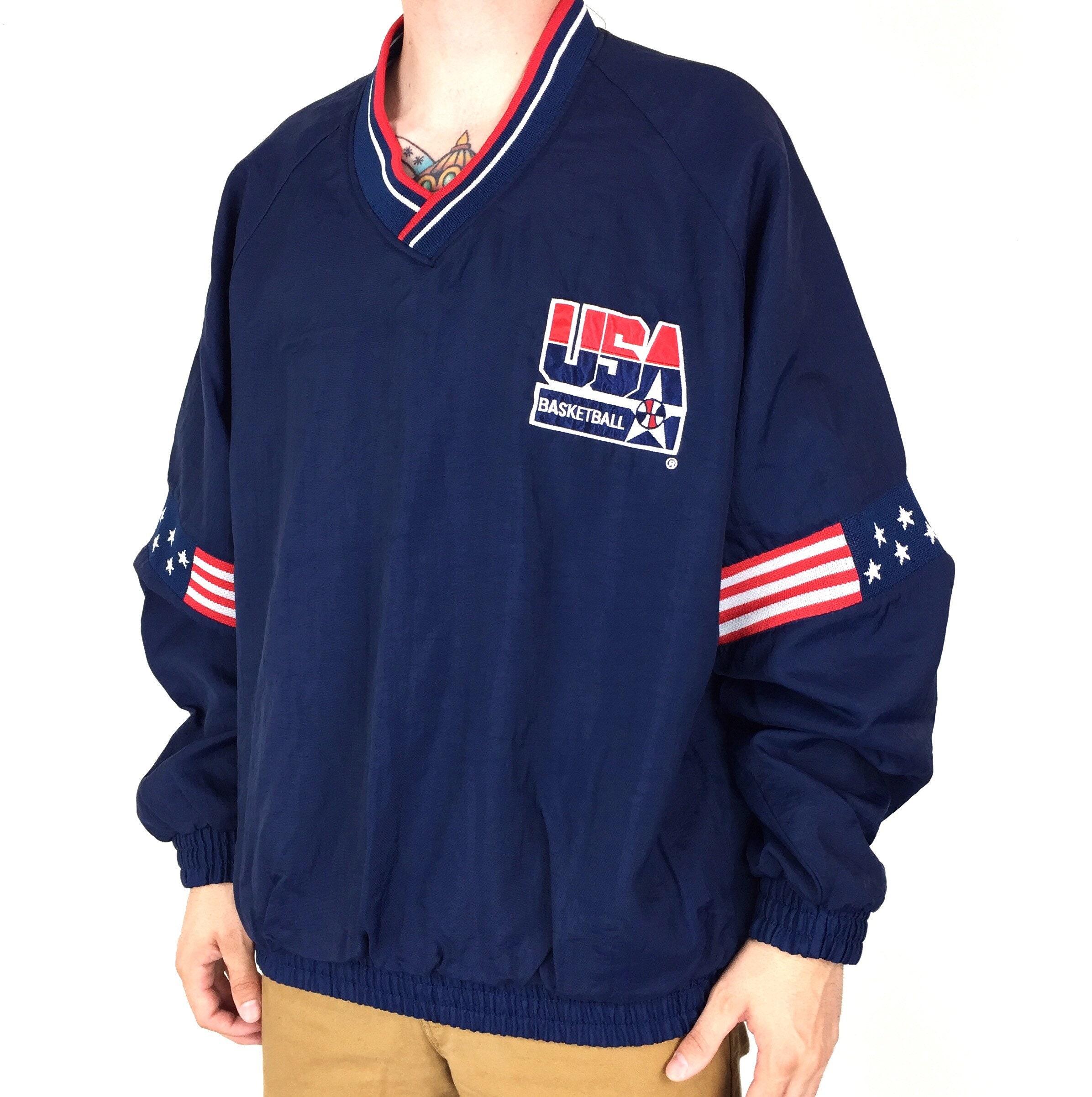 7564502f546cf Vintage 90s 1992 92 Barcelona Olympics Olympic Games Dream Team USA ...