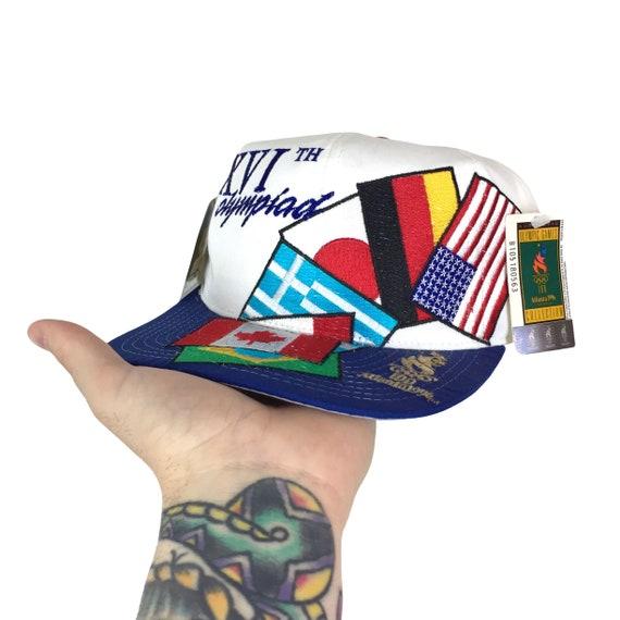 Deadstock NWT Starter Vintage 90s ATL 1996 96 Atlanta Olympics Olympic Games Flags snapback hat