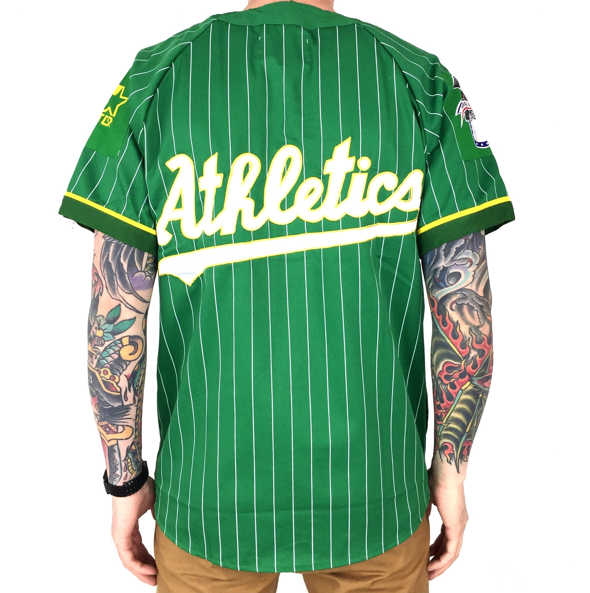newest 2971a f5546 Rare Deadstock Vintage 90s Starter MLB Oakland A's Athletics ...