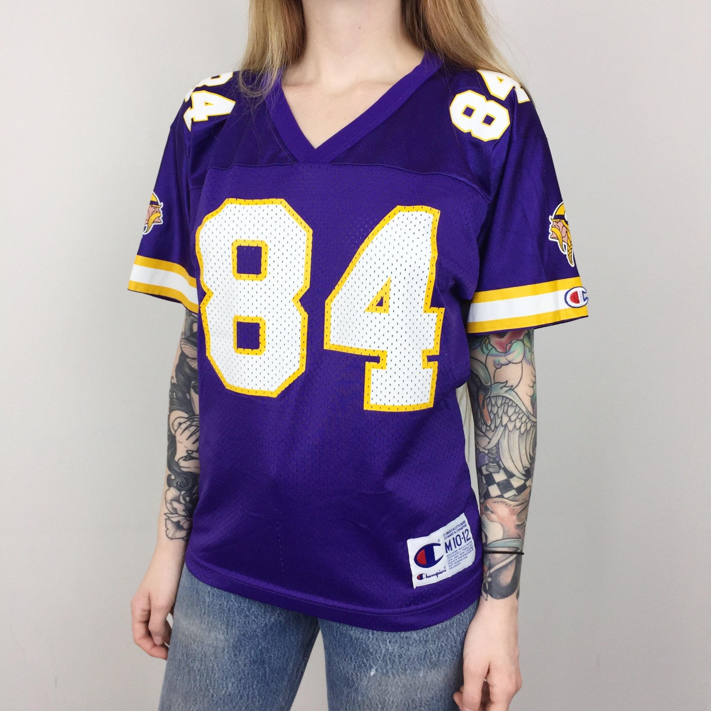 reputable site 33ad7 9af9b Women's Vintage 90s Champion NFL Minnesota Vikings Randy ...