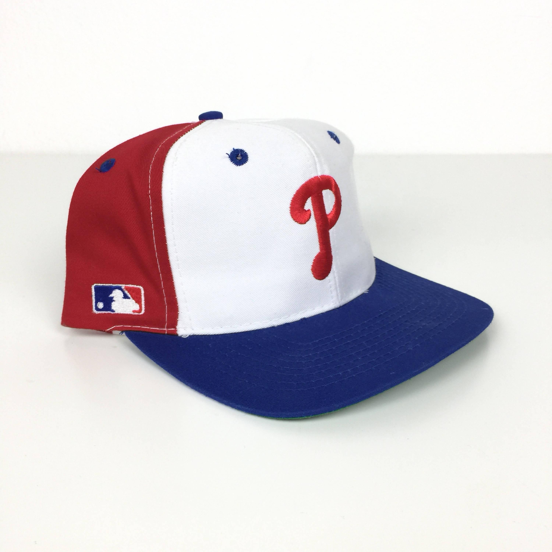 c1cf6a91e4ff8 Rare Vintage 90s MLB Philadelphia Phillies Sports Specialties back ...