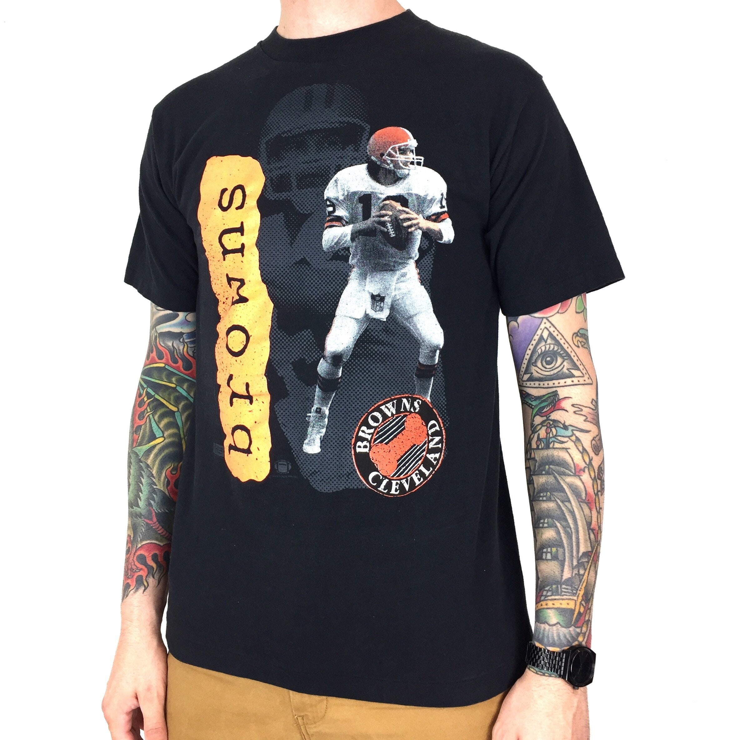 f0a7575e2d6 Vintage 90s NFL Cleveland Browns Bernie Kosar Salem Sportswear | Etsy