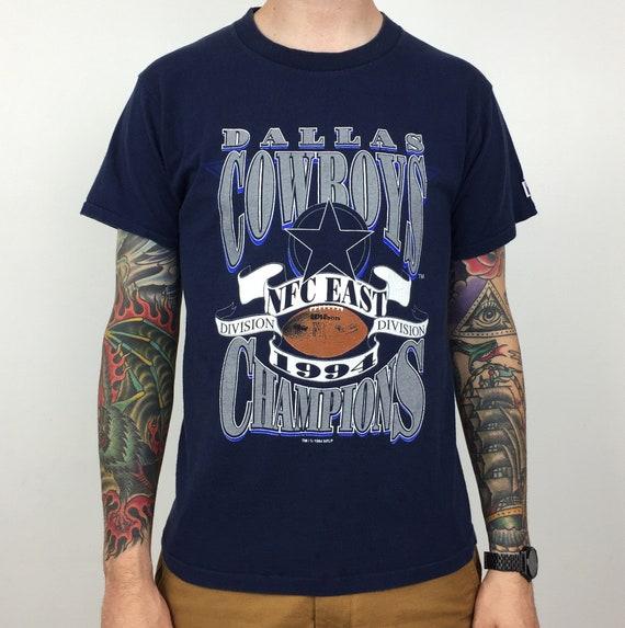 ... Salem Sportswear football graphic tee t-shirt shirt - Size L  30.00  Vintage 90s 1994 94 NFL Dallas Cowboys NFC East Division Champs Champions  Logo 7 ... 464409793