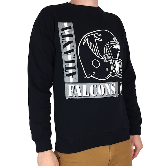 Vintage 90s 1991 91 NFL Atlanta Falcons Made in USA pullover crewneck football graphic sweatshirt - Size S-M