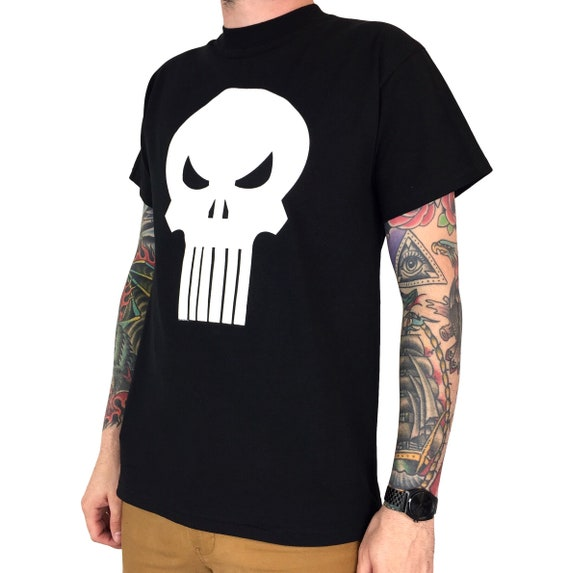 Deadstock Vintage 90s 1999 99 Marvel Comics Punisher movie tv promo promotional graphic tee t-shirt shirt - Size M