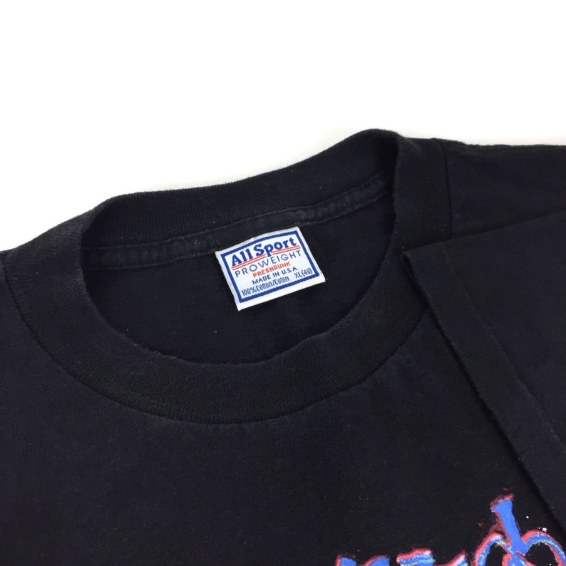 Size XL Vintage 90s Carlos Santana Heaven Smiles World Tour single stitch blues rock and roll band concert graphic tee t-shirt shirt