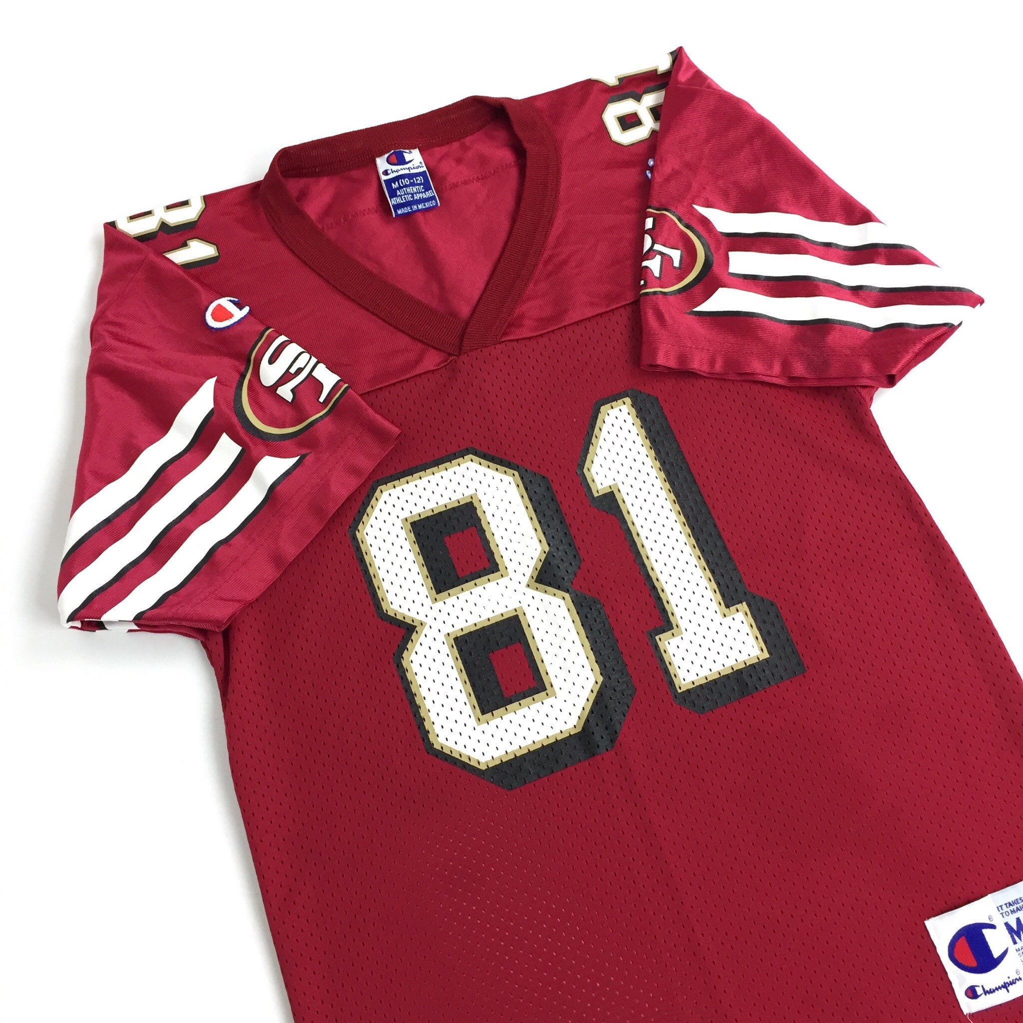 394b1a732 Vintage 90s Champion NFL San Francisco 49ers Forty Niners Terrell ...