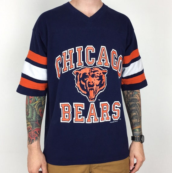 b44217bf7 Vintage 90s 1993 93 NFL Chicago Bears Logo 7 jersey style