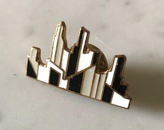 SALE*** City Skyline Brooch Pin