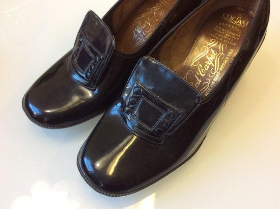 1960 Mod Shoes / Authentic vintage patent leather