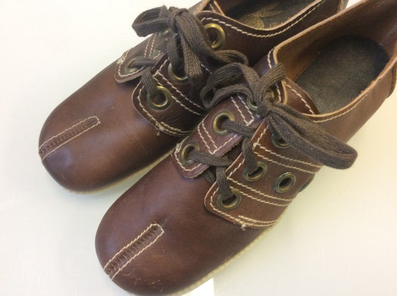 NEW Mod 1960 Shoes / Authentic vintage Suede Platf