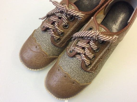 NEW Mod 1960 Shoes / Authentic vintage Platform Sh