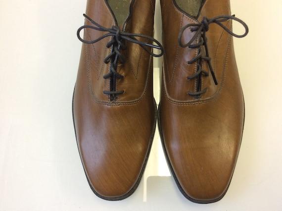 1960 Mod Shoes / wood imitation Hipster shoes / Au