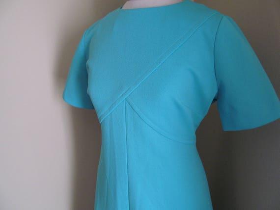 Vintage 1960s dress//1960s mod dress// mod dress/… - image 2