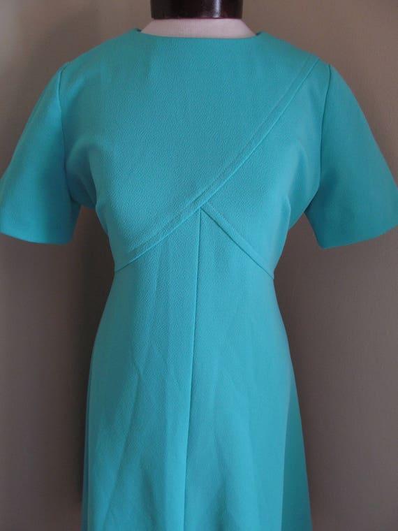 Vintage 1960s dress//1960s mod dress// mod dress/… - image 3