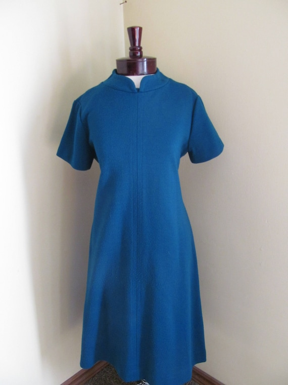 Vintage 1960s dress//mod dress// Fritzi of Califor