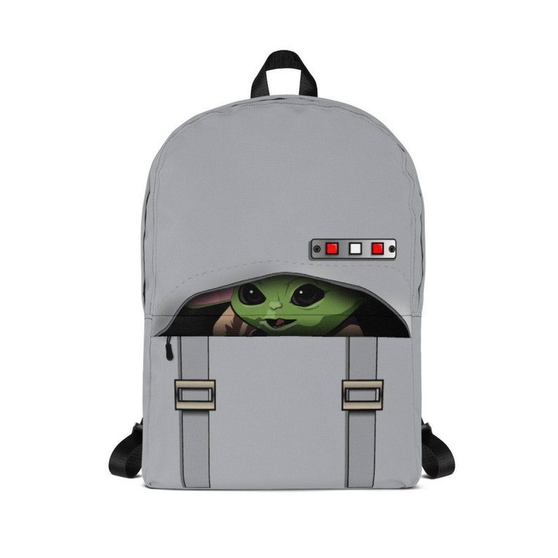 LIMITED EDITION / Original Art / Baby Yoda Inspired Backpack / image 0