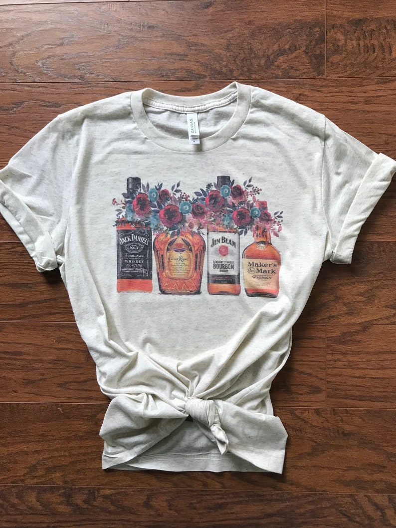 Whiskey Tee Whiskey Girl Rodeo Graphic Tee Western   Etsy