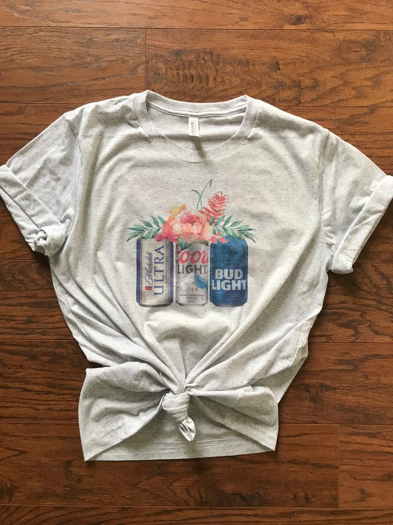 Beer babe beer shirt bouquet graphic tee country girl   Etsy