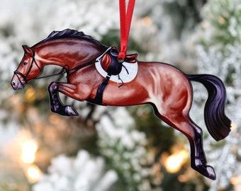 Christmas Horse Etsy