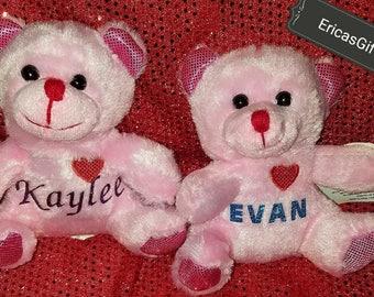 Personalized Valentine Bear
