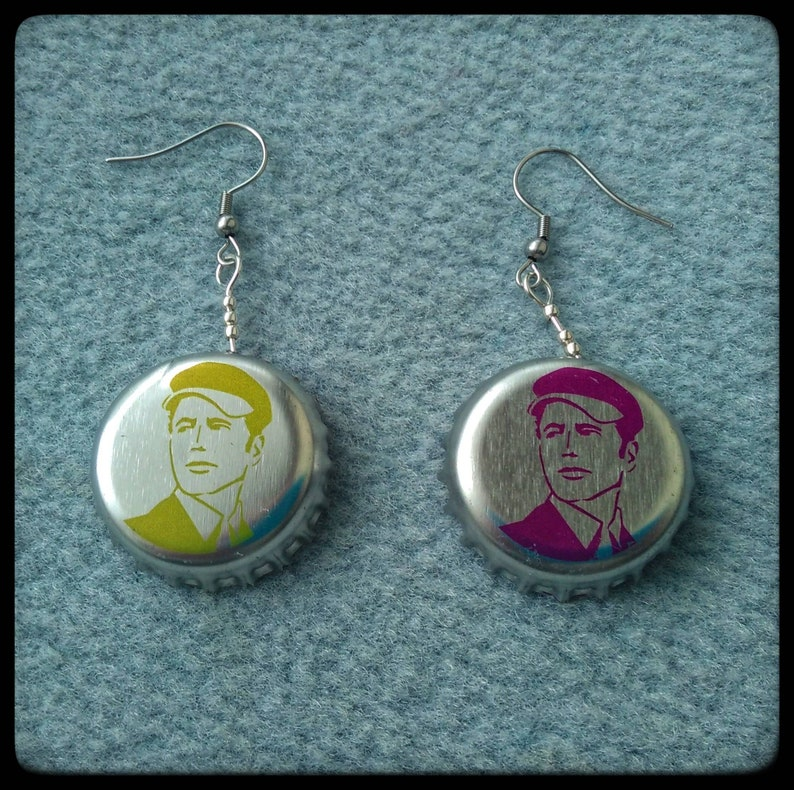 Upcycled Statement Earrings