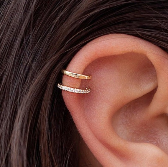 Engraved Copper Earrings Original Handmade Jewelry Made to Order Minimal jewelry TWIN CELLS Minimal Earrings