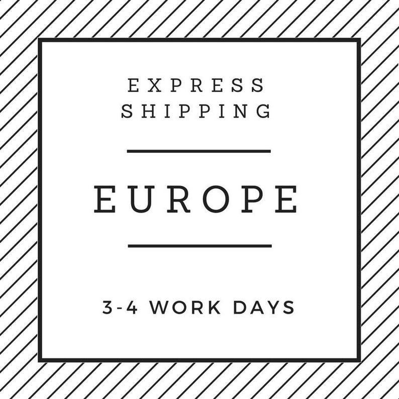 Express Shipping - Germany, UK, France, Belgium, Denmark, Italy,  Luxembourg, Austria, Switzerland, Netherlands and the Czech Republic