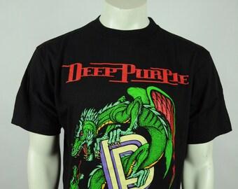 Vintage Deep Purple The Battle Rage On Concert Tour 1994 XL