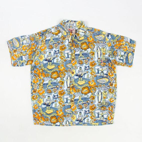 Vintage Mambo LOUD hawaiian shirt Muraroa by GERRY