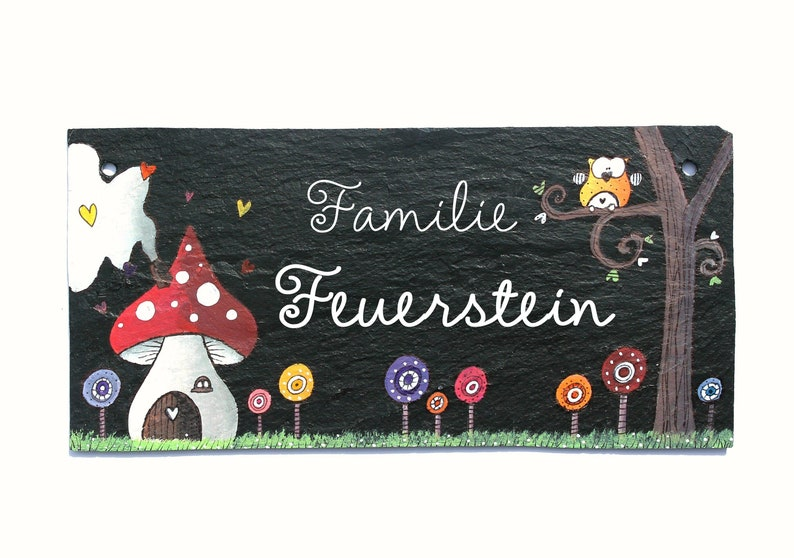 Door sign family personalized image 0
