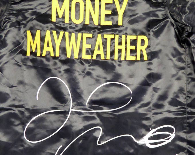 Floyd Mayweather Jr. Autographed Signed Boxing Robe BECKETT