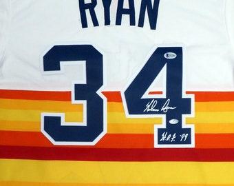 online store 24719 ef3d7 promo code for 1980s nolan ryan houston astros autographed ...