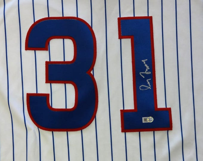 Greg Maddux Autographed Signed Cooperstown Chicago Cubs Jersey MLB COA