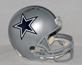 Troy Aikman Cowboys Autographed Signed Dallas Cowboys Helmet BECKETT