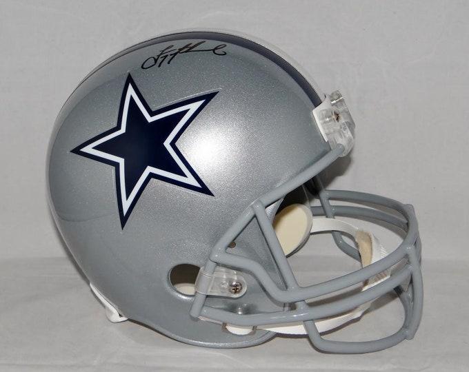 Troy Aikman Cowboys Autographed Signed Dallas Cowboys Helmet BECKETT