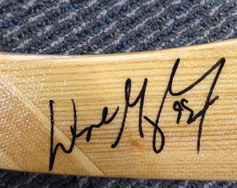 Wayne Gretzky Oilers Kings Autographed Signed Hockey Stick BECKETT