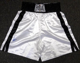 Muhammad Ali Autographed Signed Everlast Boxing Trunks PSA