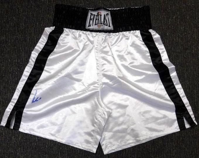 Muhammad Ali Autographed Signed Everlast Boxing Trunks PSA