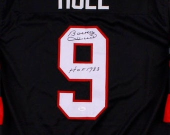 Bobby Hull Autographed Signed Chicago Blackhawks Jersey JSA