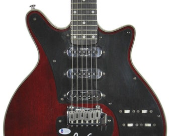 Brian May Queen Autographed Signed Electric Guitar BECKETT