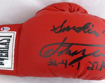 Joe Frazier Autographed Signed Everlast Boxing Glove BECKETT