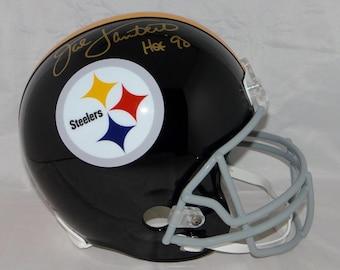 8978faa3344 Jack Lambert Autographed Signed Pittsburgh Steelers Full Size Helmet JSA