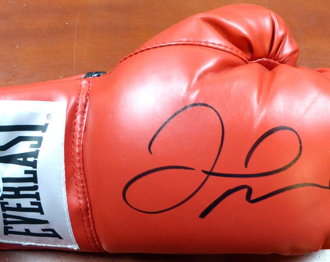 Floyd Mayweather Jr. Autographed Signed Everlast Boxing Glove BECKETT