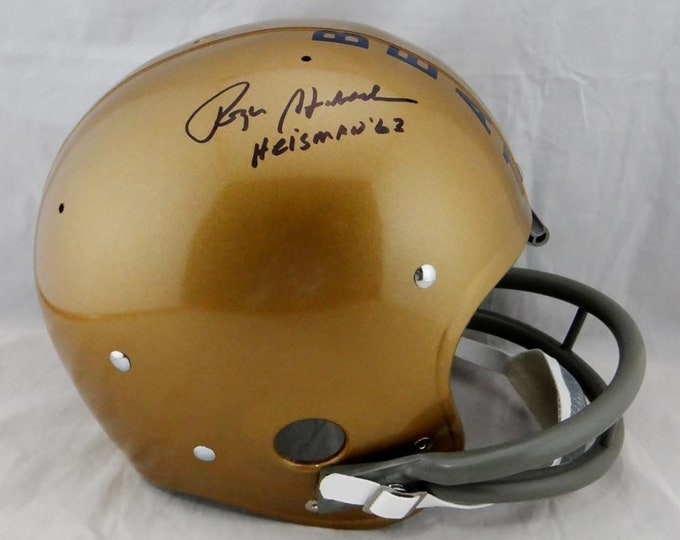 Roger Staubach Signed Autographed Navy Midshipmen Full Size Helmet BECKETT COA