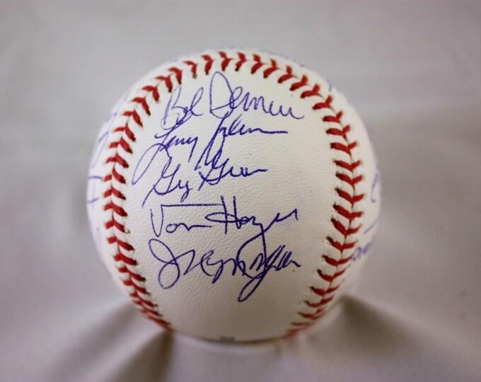 1983 Philadelphia Phillies World Series Team (Rose, Schmidt, Carlton) Autographed Signed Official Baseball JSA