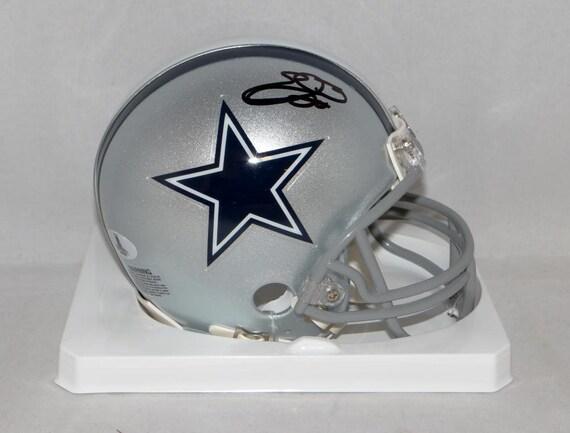 b24d182d1 Emmitt Smith Autographed Signed Dallas Cowboys Mini Helmet