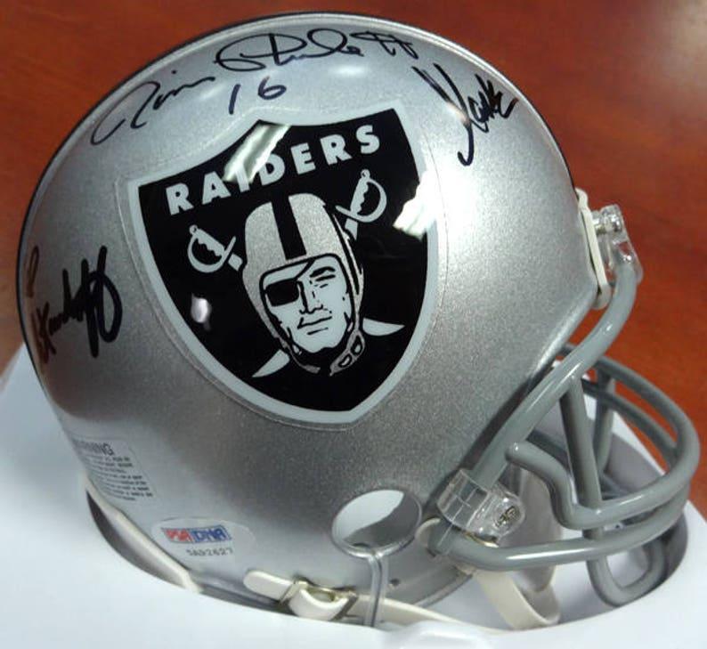 0358ddf27 Plunkett Biletnikoff & Marcus Allen Autographed Signed | Etsy