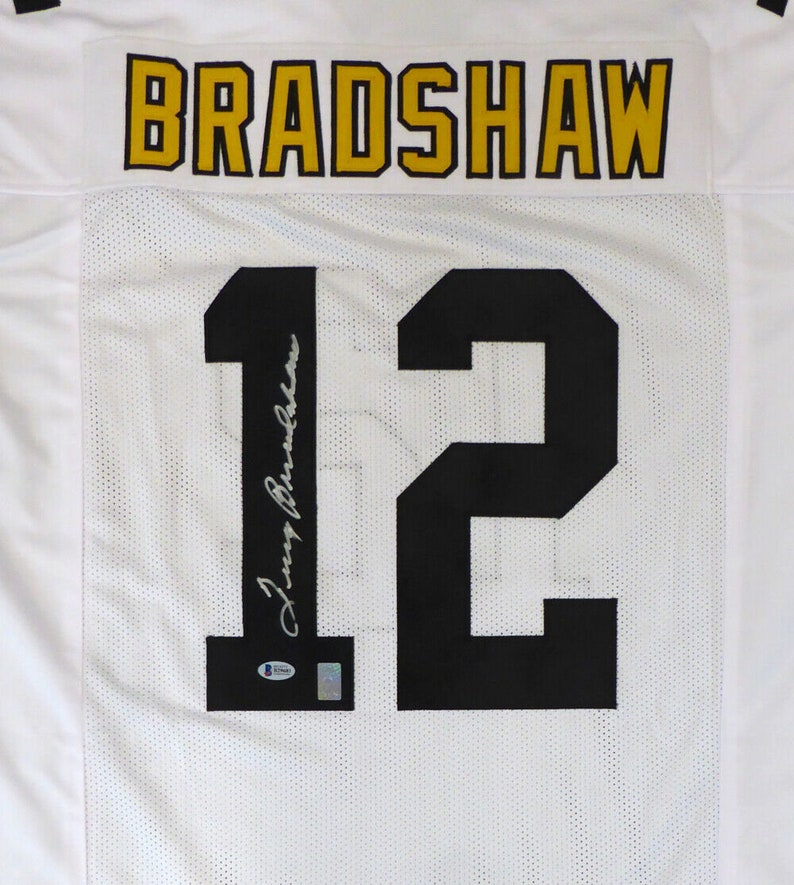 95022ace7 Terry Bradshaw Autographed Signed Pittsburgh Steelers Jersey