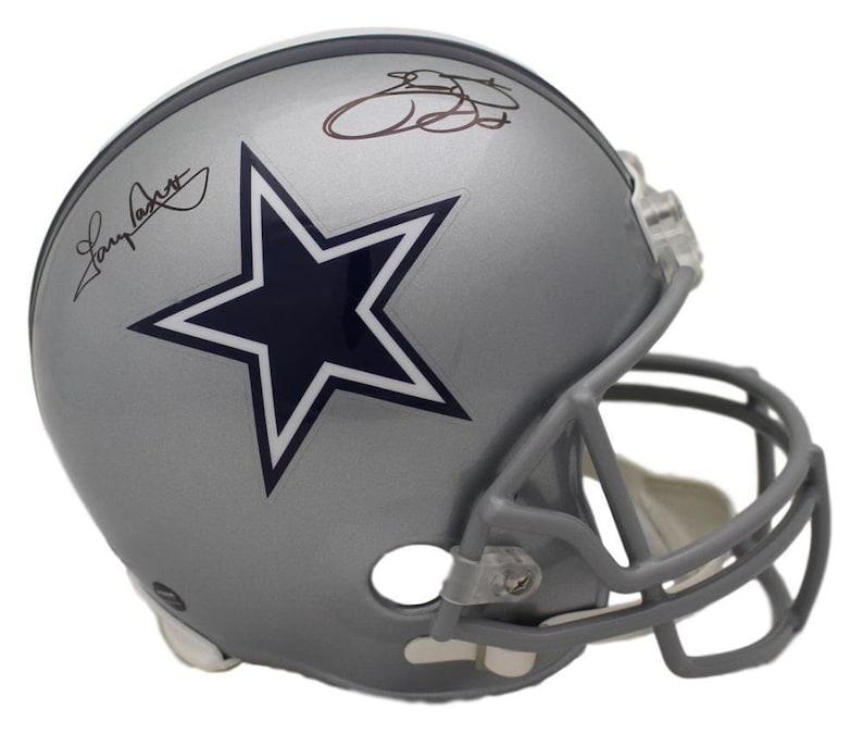 fd8ac773d2e Emmitt Smith & Tony Dorsett Autographed Signed Dallas Cowboys | Etsy